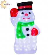 Фигура светящаяся Снеговик