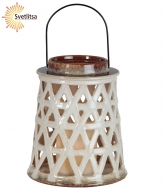 Свеча LED Фонарь Lantern 21 см
