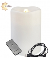 Свеча-фонтан LED WATER CANDLE с пультом д/у