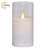 Свеча LED в стакане М-TWINKLE 15 см