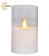 Свеча LED в стакане М-TWINKLE 12.5 см