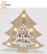 Декорация-подвес рождественская ЕЛОЧКА
