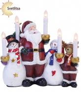 Светильник рождественский САНТА И КОМПАНИЯ