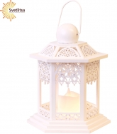 Свеча LED Фонарь LACE 20 см