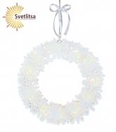 Светильник-подвес Snowflake Wreath 45 см