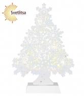 Светильник декоративный Snowflake Tree 29 см