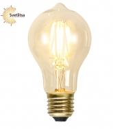 Лампочка универсальная Filament Е27 LED