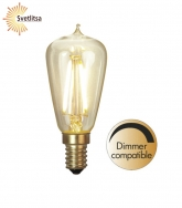 Лампочка универсальная E14 LED диммируемая