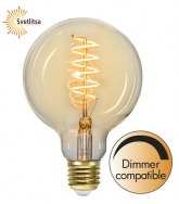 Лампа SPIRAL FILAMENT Е27 LED Ø95