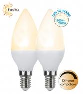 Лампа DIM TO WARM Е14 LED