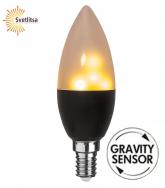 Лампа FLAME SENSOR GRAVITY Е14 LED