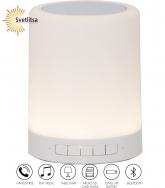 Декоративный светильник-колонка BLUETOOTH LED