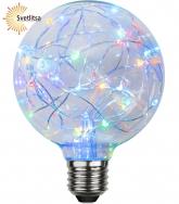 Лампа DECOLED Е27 RGB LED Ø95