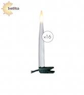 Гирлянда-свечи SLIMLINE х16