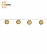 Гирлянда-шарики JOLLY GLITTER