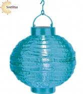 Садовый фонарик Solar energy голубой
