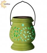 Садовый керамический фонарик Solar energy