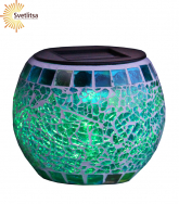 Садовый светильник-шар мозаичный Solar energy,