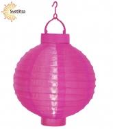 Садовый фонарик Solar energy розовый
