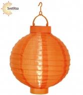 Садовый фонарик Solar energy оранжевый