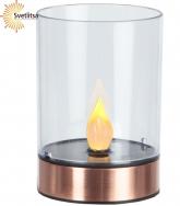 Свеча LED в стакане Solar energy