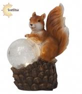 Садовая фигура-светильник SQUIRREL Solar energy