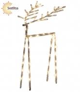 Фигура светящаяся  ICY DEER 40 см