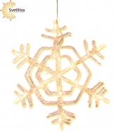 Подвес-снежинка Crystal Snowflake