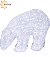 Фигура светящаяся Полярный медведь