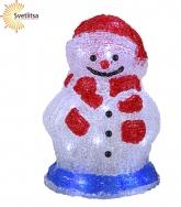 Фигура светящаяся Снеговчок