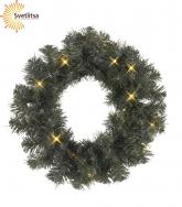 Венок рождественский еловый OTTAWA 38 см