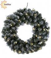 Венок рождественский еловый EDMONTON 50 см