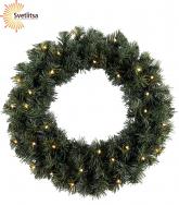 Венок рождественский еловый OTTAWA 50 см