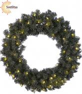 Венок рождественский еловый OTTAWA 70 см