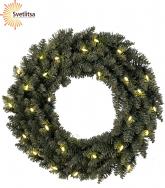 Венок рождественский еловый CALGARY 50 см