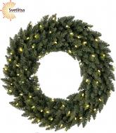Венок рождественский еловый CALGARY 70 см