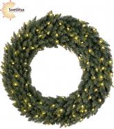 Венок рождественский еловый CALGARY 90 см