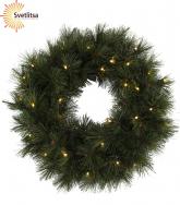 Венок рождественский еловый RUSSIAN PINE 50 см
