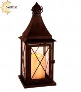 Свеча LED Фонарь Lantern 36 см.