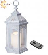 Фонарь LED Amber Lantern 33 см