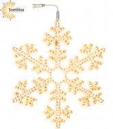 Подвес Снежинка Snowflake 100 см