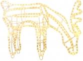 Фигура светящаяся REINDEER