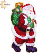 Декорация Санта с подарками