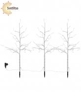 Дерево декоративное TOBBY TREE BIRCH 75 см*3 шт