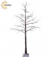 Дерево декоративное TOBBY TREE WITH SNOW 210 см