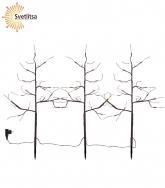 Дерево декоративное TOBBY TREE WITH SNOW 75 см*3 шт